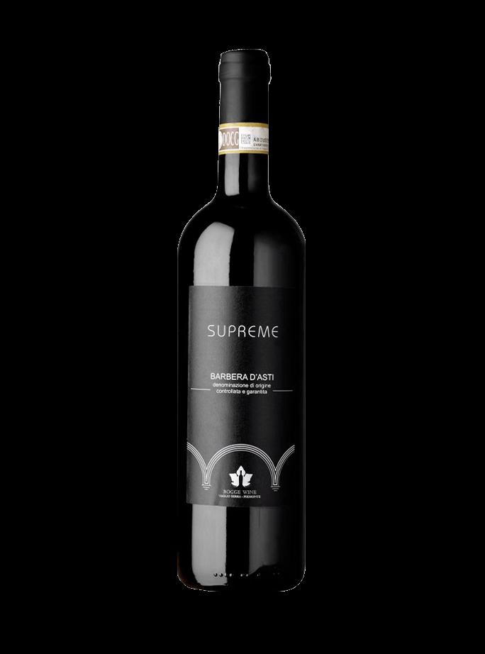 Barbera D'Asti Docg Supreme Bogge Wine